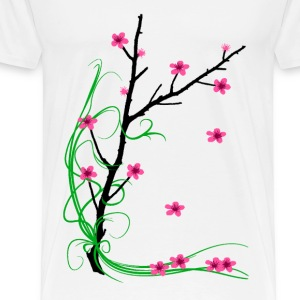 Cherry Blossom Tree - Men's Premium T-Shirt