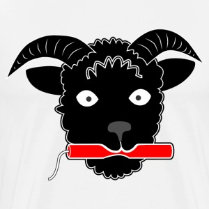 Black Sheep with Dynamite T-Shirts - Men's Premium T-Shirt