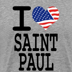 i love saint paul T-Shirts - Men's Premium T-Shirt
