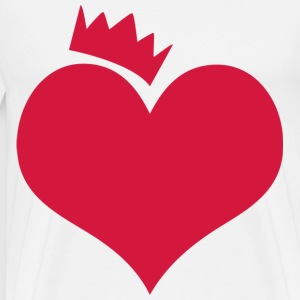 Heart - Men's Premium T-Shirt