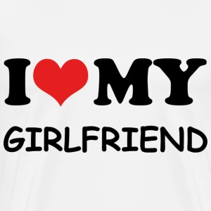 I ♥ My Girlfriend - Men's Premium T-Shirt
