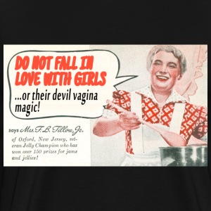 Devil Vagina Magic T-Shirt - Men's Premium T-Shirt