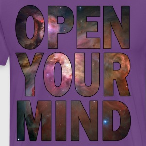 Open Your Mind - HD Design T-Shirts - Men's Premium T-Shirt