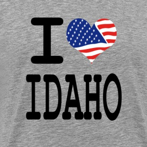 i love idaho T-Shirts - Men's Premium T-Shirt