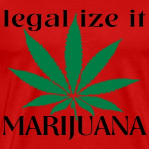 legalize it marijuana T-Shirts - Men's Premium T-Shirt