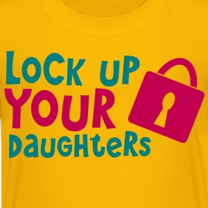lock up your daughters with padlock Kids' Shirts - Kids' Premium T-Shirt