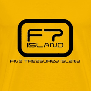FT ISLAND LOGO (black font) T-Shirts - Men's Premium T-Shirt