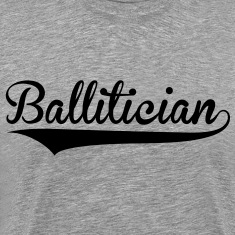 Ballitician Logo - Men's