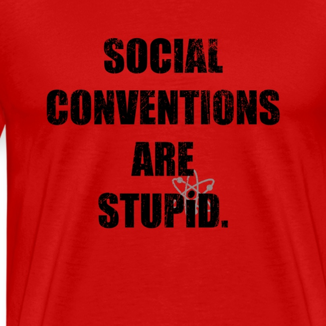 Social Conventions Are Stupid - The Big Bang Theory   Robot Plunger