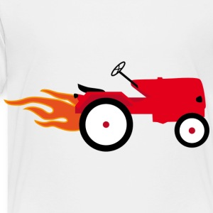 Tractor Toddler Shirts - Toddler Premium T-Shirt