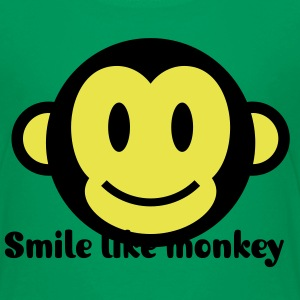 Ape Smiley Icon 2c Kids' Shirts - Kids' Premium T-Shirt