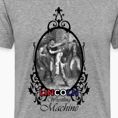 Abraham Lincoln Wrestling Machine Dark