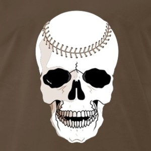 baseball skull - Men's Premium T-Shirt