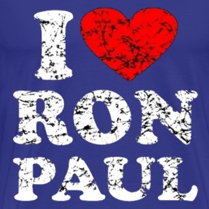 I love ron paul - Men's Premium T-Shirt