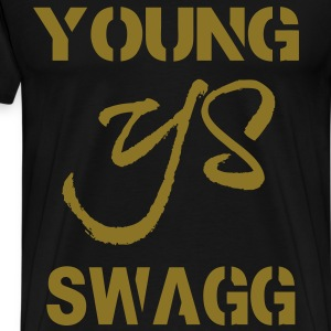 YOUNG SWAGG T-Shirts - Men's Premium T-Shirt