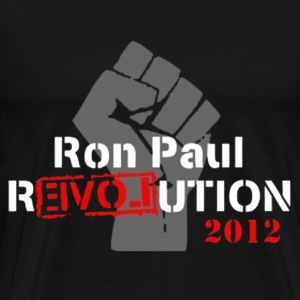Ron Paul revolution 2012 - Men's Premium T-Shirt