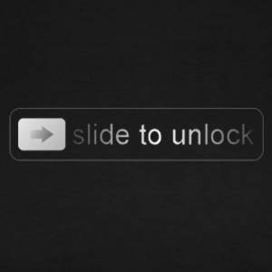 Slide to unlock - Men's Premium T-Shirt