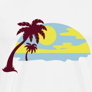 darr beach T-Shirts - Men's Premium T-Shirt