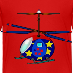 Helicopter - Toddler Premium T-Shirt