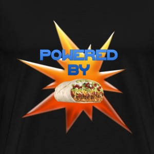 Powered By Burritos! - Men's Premium T-Shirt