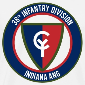 38th Infantry Indiana ANG T-Shirts - Men's Premium T-Shirt