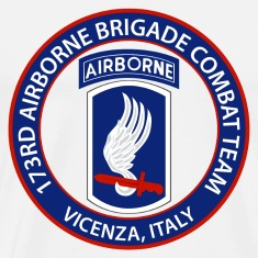 173rd Airborne BCT Vicenza T-Shirts