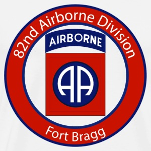 82nd Airborne Ft Bragg T-Shirts - Men's Premium T-Shirt