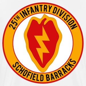 25th Infantry Schofield Barracks - Men's Premium T-Shirt