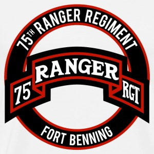 75th Ranger Ft Benning T-Shirts - Men's Premium T-Shirt