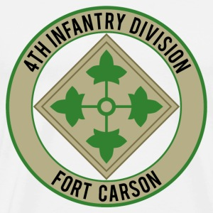 4th Infantry Ft Carson T-Shirts - Men's Premium T-Shirt