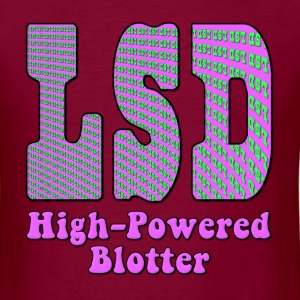 LSD High Powered Blotter T-Shirts - Men's T-Shirt