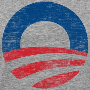 Vinatge Obama 2012 Logo - Men's Premium T-Shirt