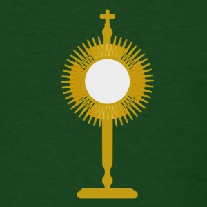 blessed sacrament - Men's T-Shirt