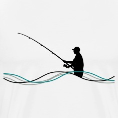Fishing Men´s Heavyweight T-Shirt