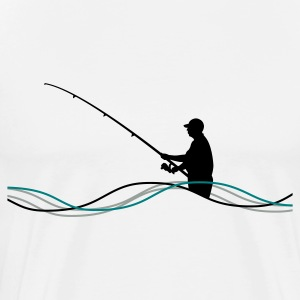 Fishing Men´s Heavyweight T-Shirt - Men's Premium T-Shirt