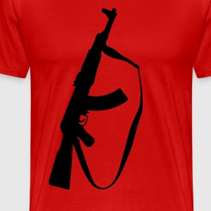 ak47 machine gun T-Shirts - Men's Premium T-Shirt