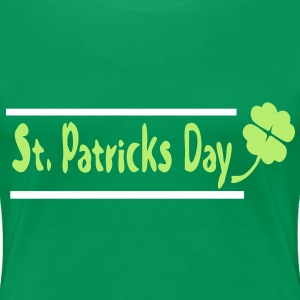 Shamrock st.Patrick's day Women's Plus Size Basic T-Shirt - Women's Premium T-Shirt