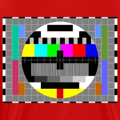 TV Test Pattern of Sheldon Cooper