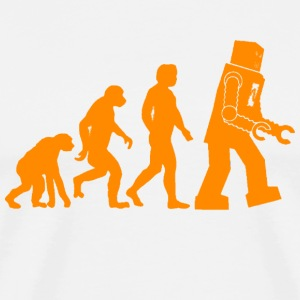 Robot Evolution - Men's Premium T-Shirt