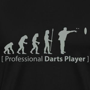 evolution_darts T-Shirts - Men's Premium T-Shirt