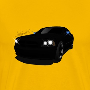dodge charger - Men's Premium T-Shirt