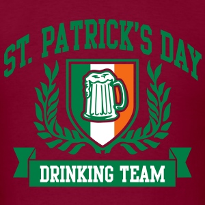 st. patrick's day drinking team T-Shirts - Men's T-Shirt