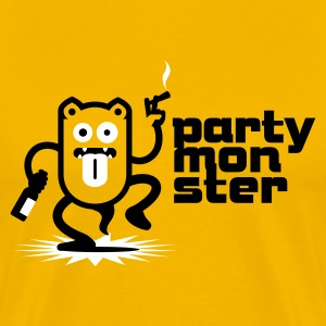 Partymonster / Party Monster No.1_3c T-Shirts - Men's Premium T-Shirt