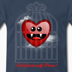 SET YOURSELF FREE (HEART) T-Shirts