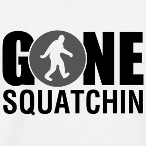 Gone Squatchin Grey - Men's Premium T-Shirt