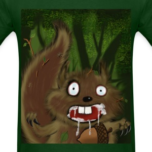 Rabid Squirrel - Men's T-Shirt