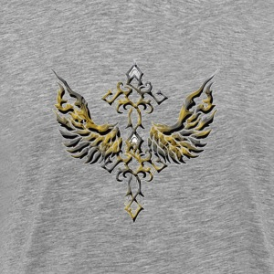 Cross Wings - Men's Premium T-Shirt