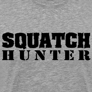 Squatch Hunter (Black) - Men's - Men's Premium T-Shirt