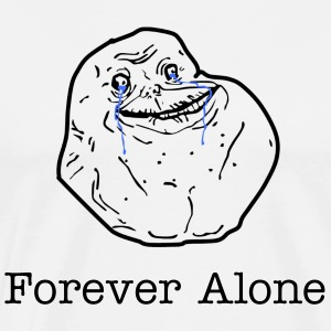 Forever Alone - Men's Premium T-Shirt