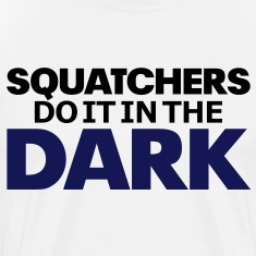 Squatchers do it in The Dark (Black & Purple) - Men's